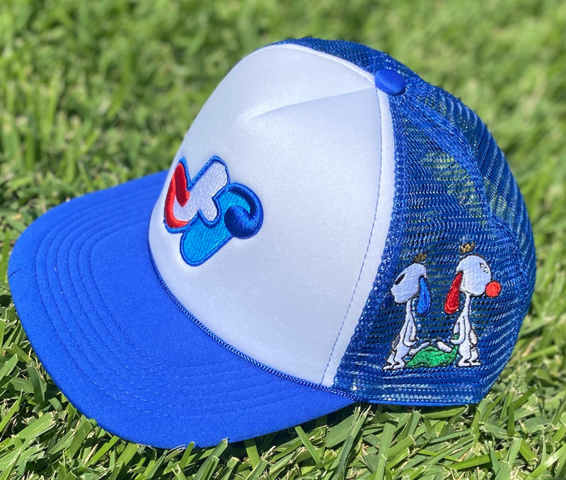HidalgoUSA Signature Trucker Hat Royal Blue