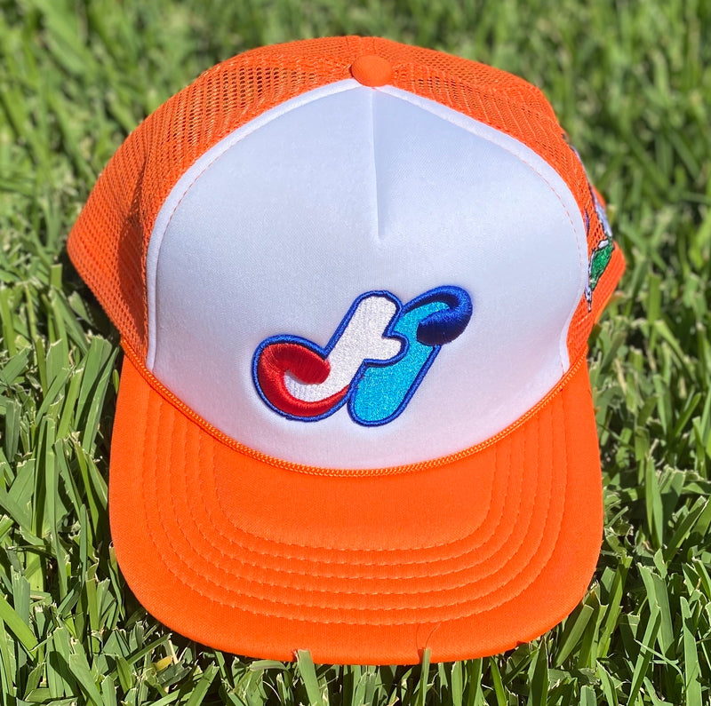 HidalgoUSA Signature Trucker Hat Orange
