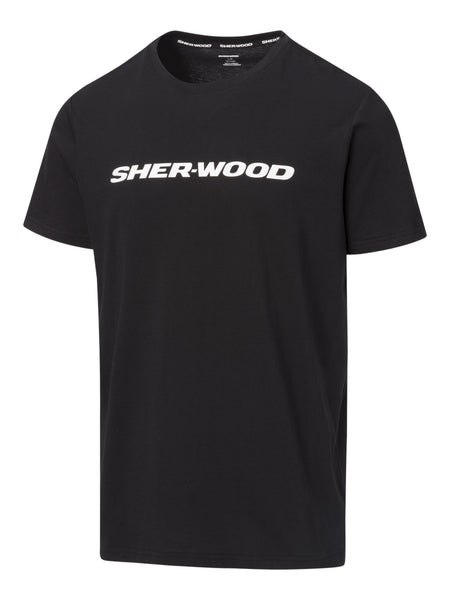Sher-Wood Logo Short Sleeve Tee