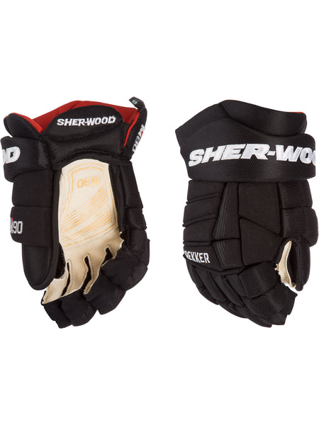 Sher-Wood M90 Junior Hockey Gloves