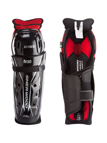 Sher-Wood Rekker M90 Junior Shin Guards