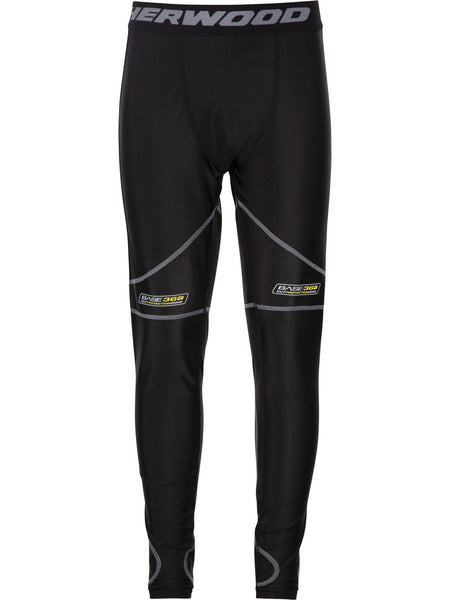 Sherwood T100 Pro Jock Pants (Knee/Groin Protection) Junior