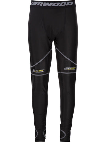 Pantalon avec support athlétique (genou/aine) Sherwood, junior T100 Pro