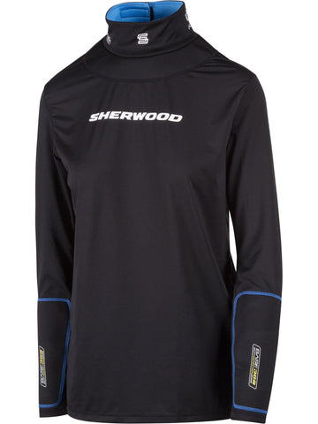 Sherwood T90 Long Sleeve Shirt with Neck Guard Womens