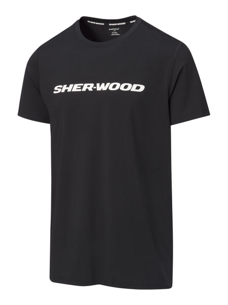 Sher-Wood Sueded Short Sleeve Top