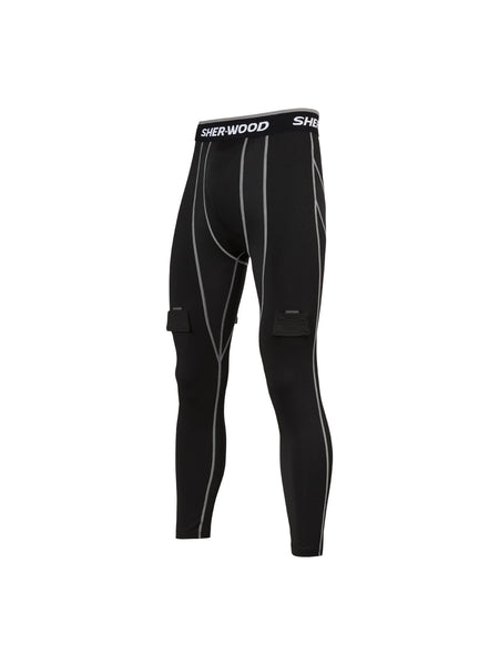 PANTALON SUSPENSOIR À COMPRESSION SHER-WOOD SENIOR