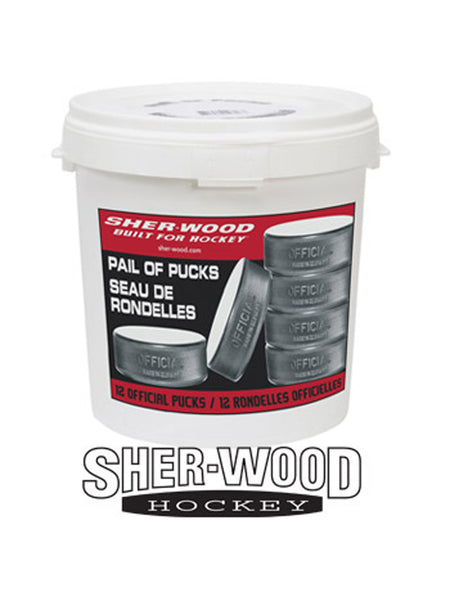 Sher-Wood Bucket Of Pucks