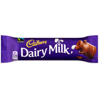Cadbury Dairy Milk Bar.