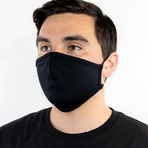 Black Reusable Fabric Masks (Large)