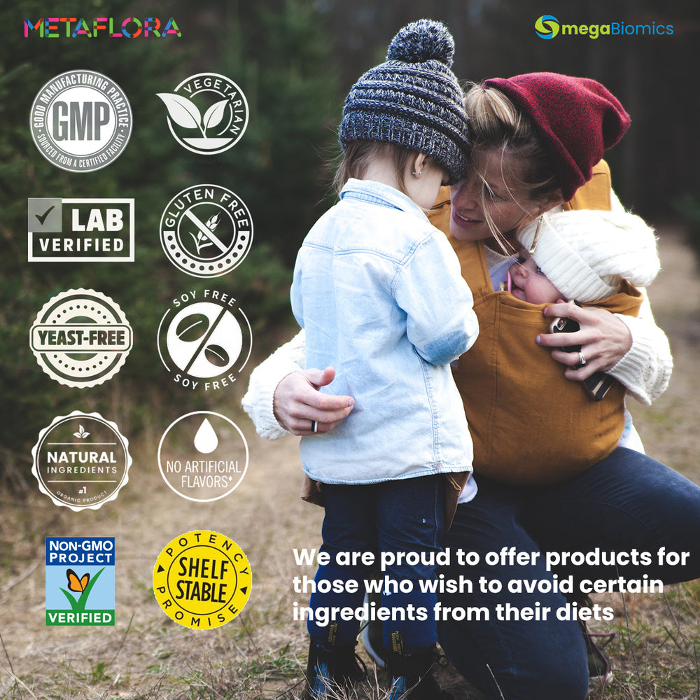 METAFLORA Probiotics for Gut Health