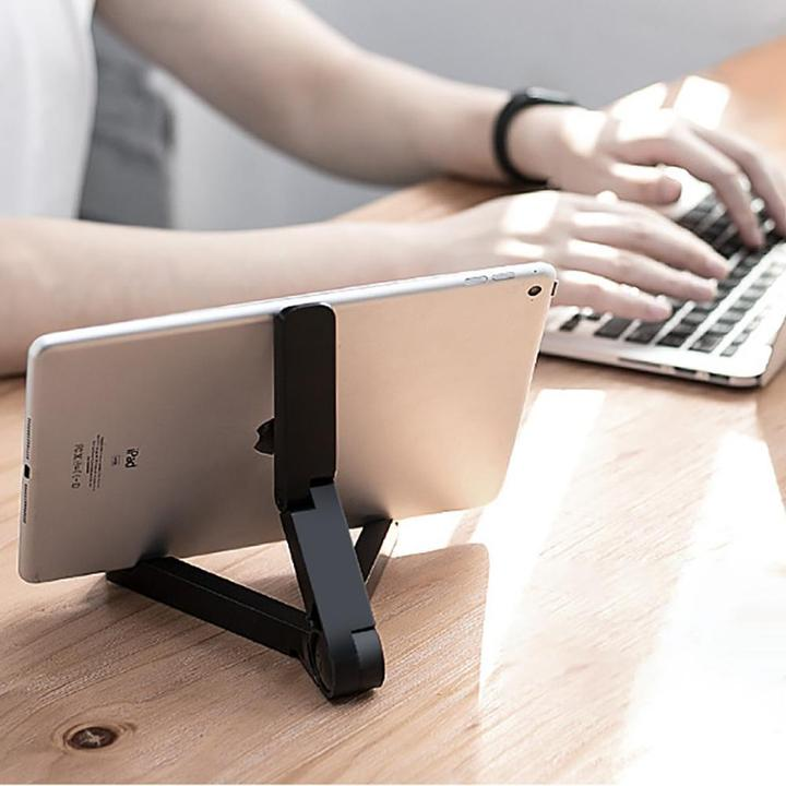 DESK2TABLE Adjustable Phone & Tablet Stand