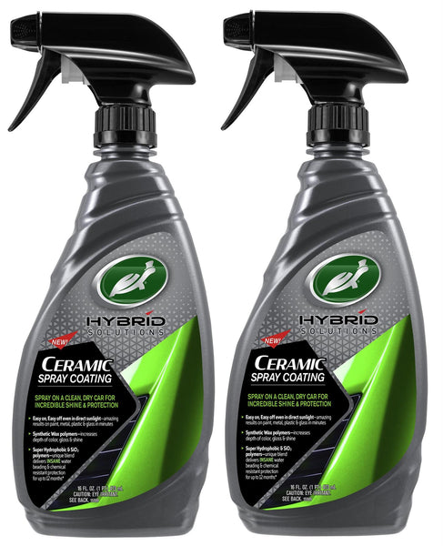 Hybrid Solutions Ceramic Wax Spray Coating 16 Fl Oz. (2 Pack) - turtle-wax-us-store