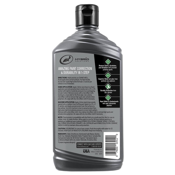 Hybrid Solutions Ceramic Polish & Wax 14 Fl Oz.