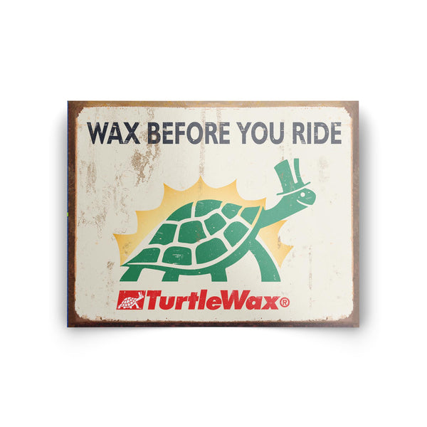 Wax Before You Ride Sticker