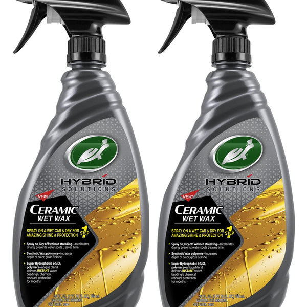 Hybrid Solutions Ceramic Wet Wax 26 Fl Oz. (2 Pack) - turtle-wax-us-store
