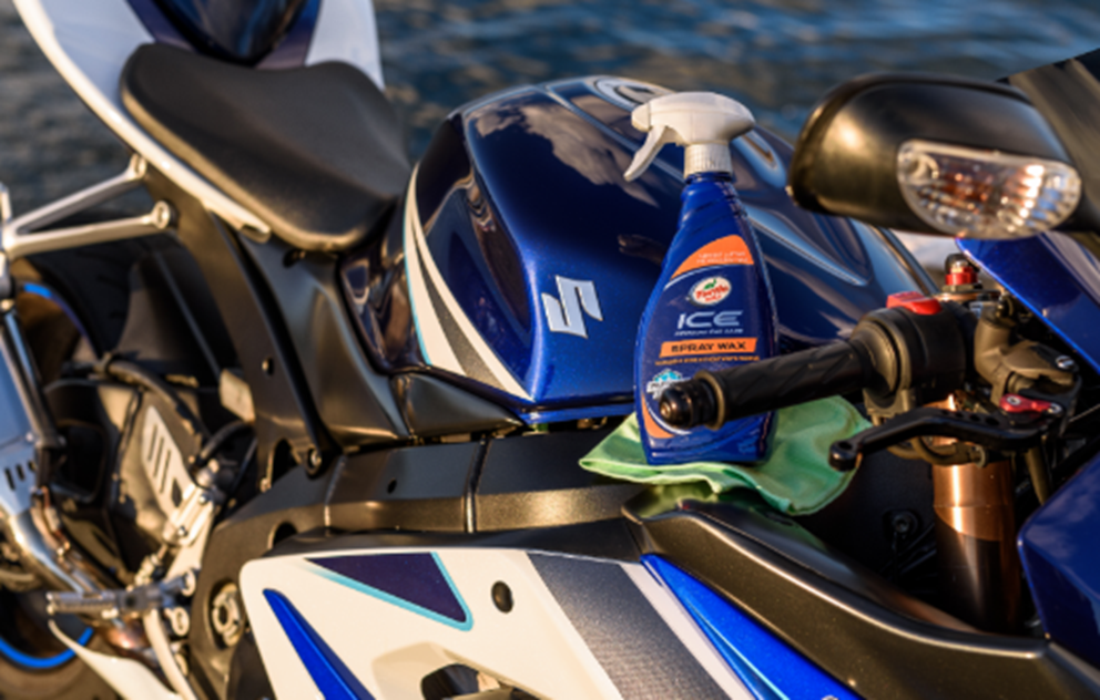 how-to maintain a motorcycle turtle wax spray wax