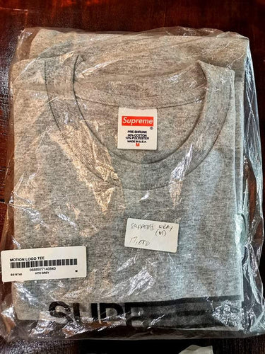 Supreme Motion Logo Tee (Gray)