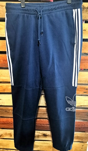 Navy Blue Outline Pants - Adidas