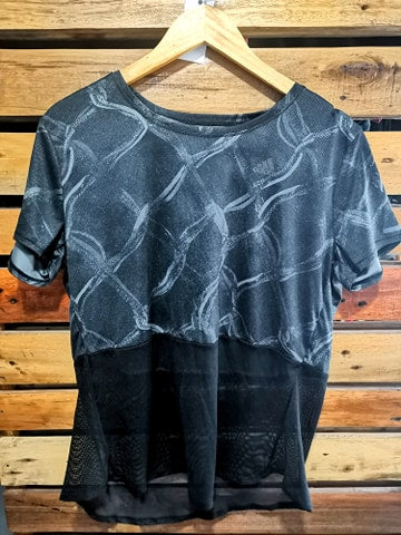 Grefiv/Black Own the Run Tee - Adidas