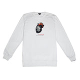 Long Sleeve Bad Machine White