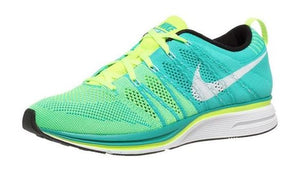 Flyknit Trainer Volt/White-Atomic Teal