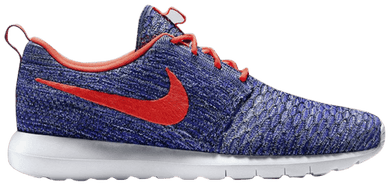 Flyknit Roshe Run (Blue & Orange)