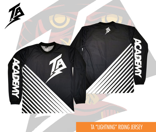 LIGHTNING STRIKES BACK RIDING JERSEY
