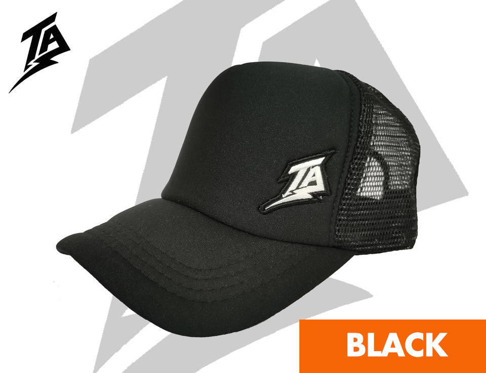 TRUCKER CAPS BLACK