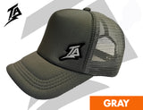 TRUCKER CAPS GRAY