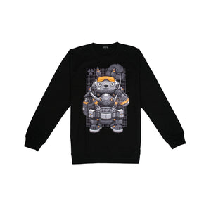 Long Sleeve Soldier Black