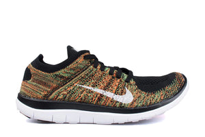 Nike Free 4.0 Multi-Color BLACK/WHITE-POISON