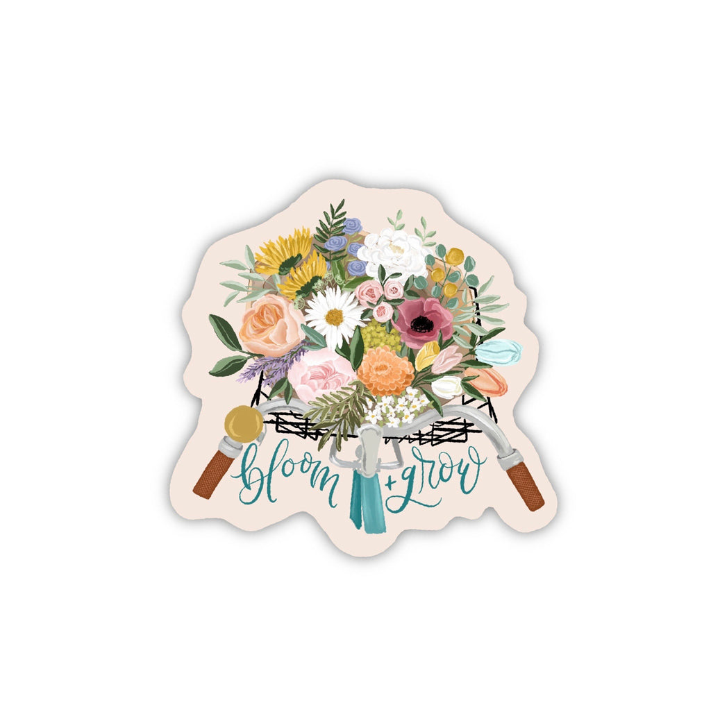 """Bloom and Grow"" (STICKER)"