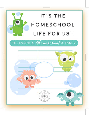 The Essential Homeschool Planner (Digital Expansion Pack Pages for Classic Happy Planner)