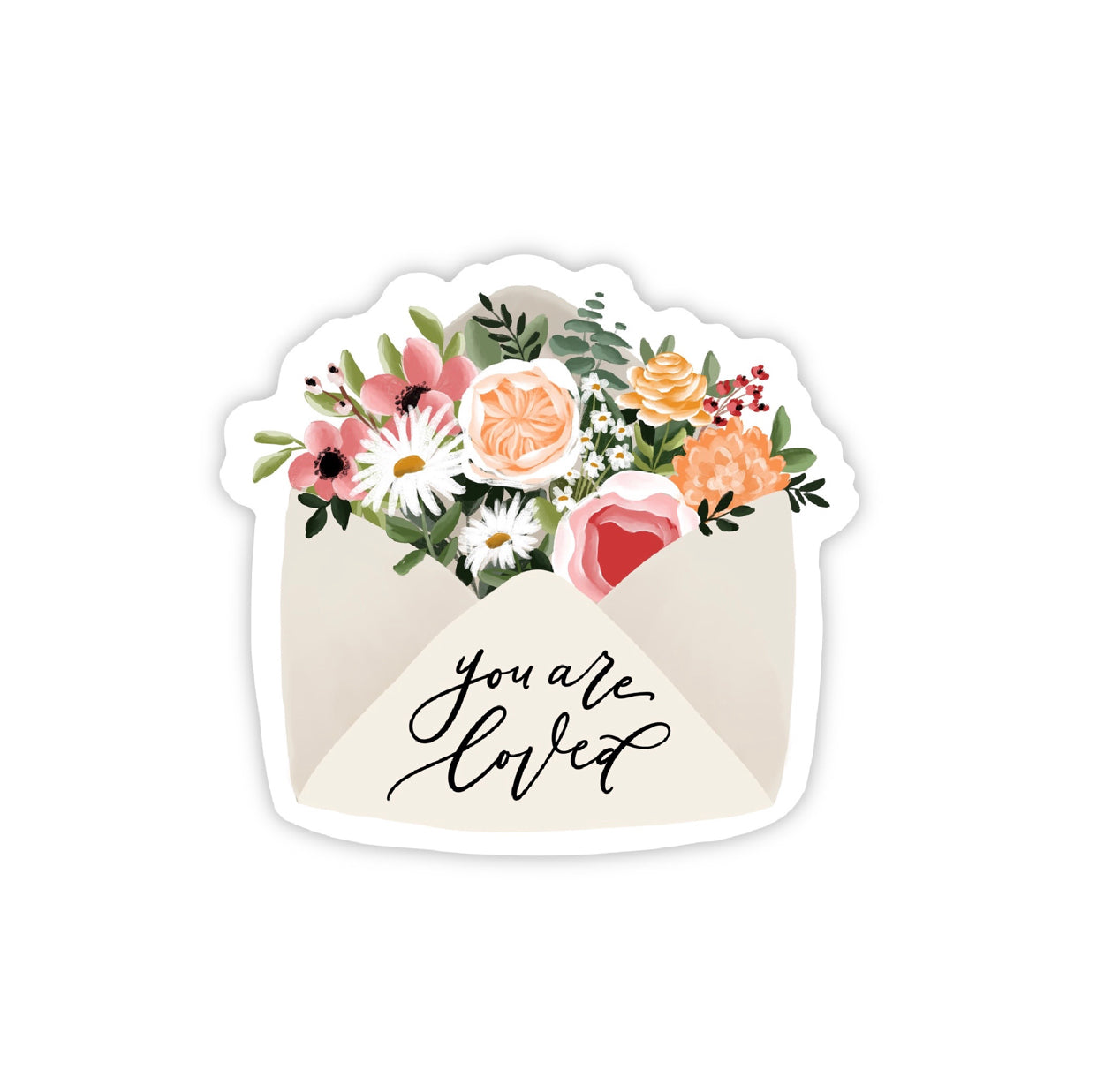 """You Are Loved"" (STICKER)"