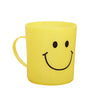 744 Unbreakable Plastic Coffee-Milk Homestoremart Smiley Mug