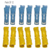 332 Multipurpose Plastic Clothes Pegs / Hanging Clips / Cloth Drying Clips - 12 pcs (Round)