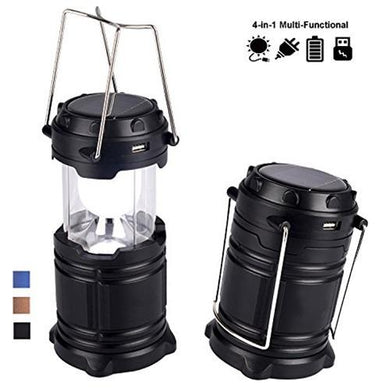 874 Rechargeable Camping Lantern LED Solar Emergency Light Bulb