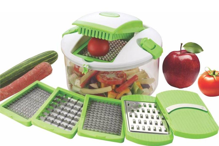 N01 Kitchen King Chopper 5 in 1 (Unbreakeble Container) [ Colour May be Very]
