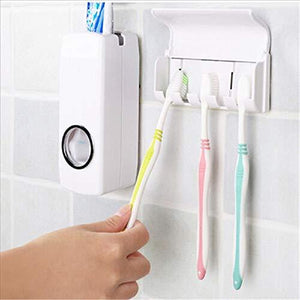 174 Toothpaste Dispenser & Tooth Brush Holder