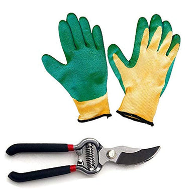 Homestoremart Gardening Tools - Falcon Gloves and Pruners