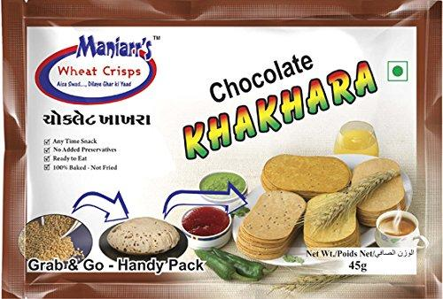 001 Chocolate Khakhra (Pack of 8)