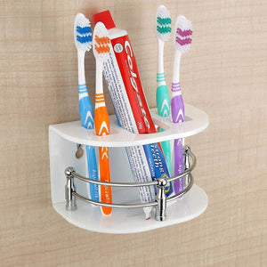697 Multi Purpose Tooth Brush Holder/Tooth Paste Stand   (H-107)