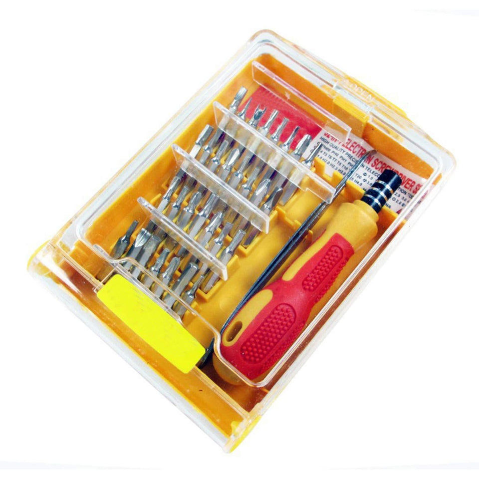 Professional Screwdriver Set - 32 in 1 Interchangeable Precise Screwdriver Tool Set with Magnetic Holder | Screwdriver | Screwdriver All in one