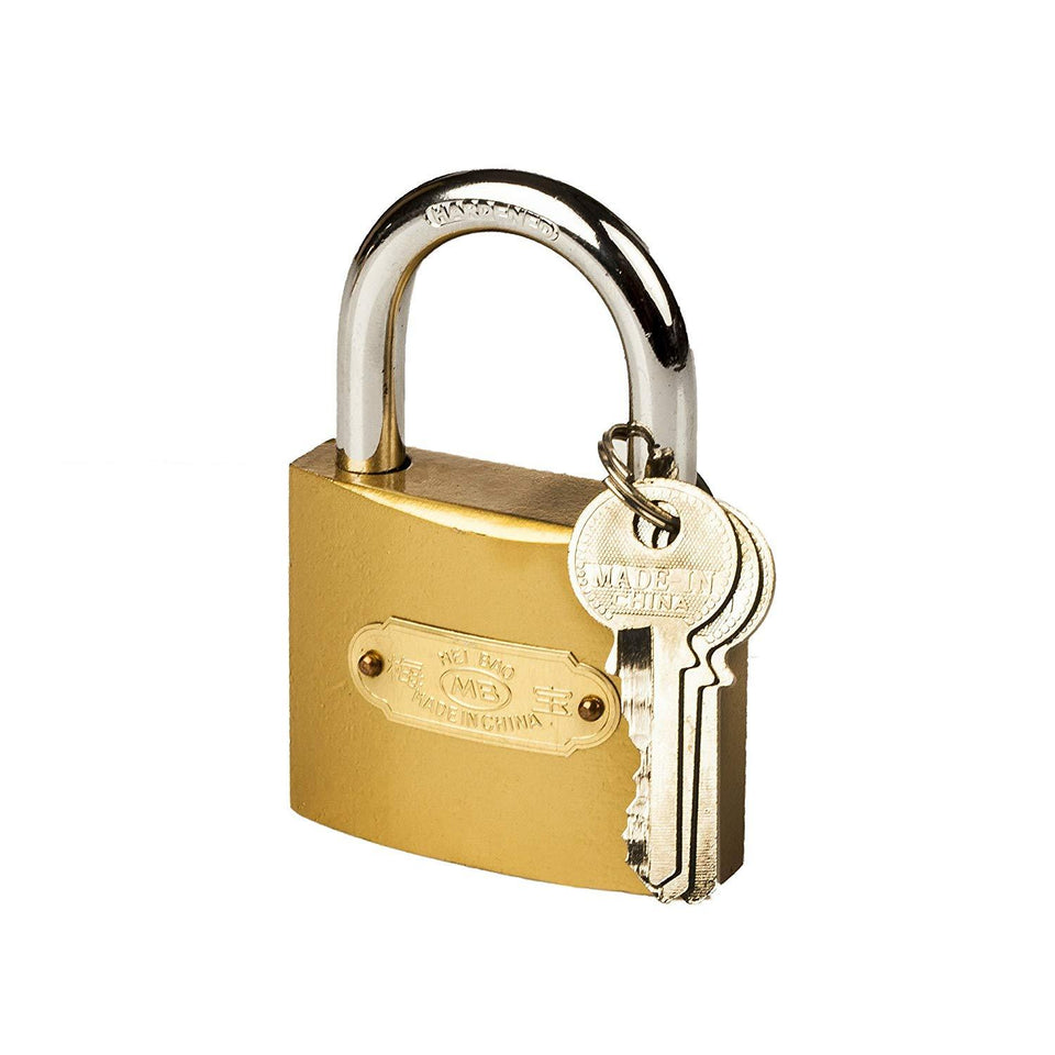 186 Solid Imitation Copper Lock