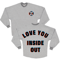 Limited Edition Inside Out Reversible 3D Sweatshirt