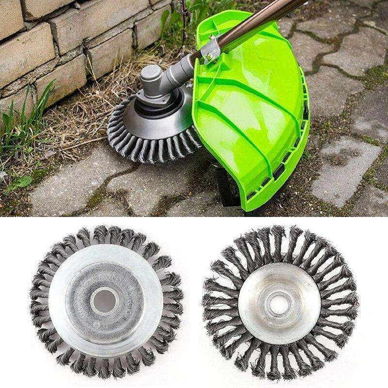 Break-Proof Wired Round Edge Weed Trimmer Blade