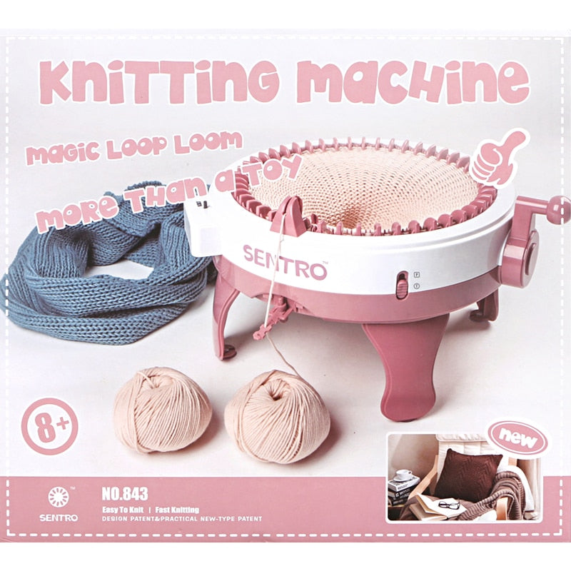 Needle Knitting Loom Machine