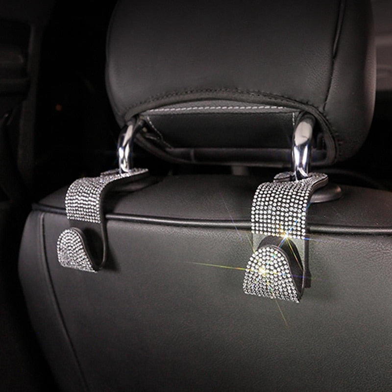 Car Backseat Diamond Hooks