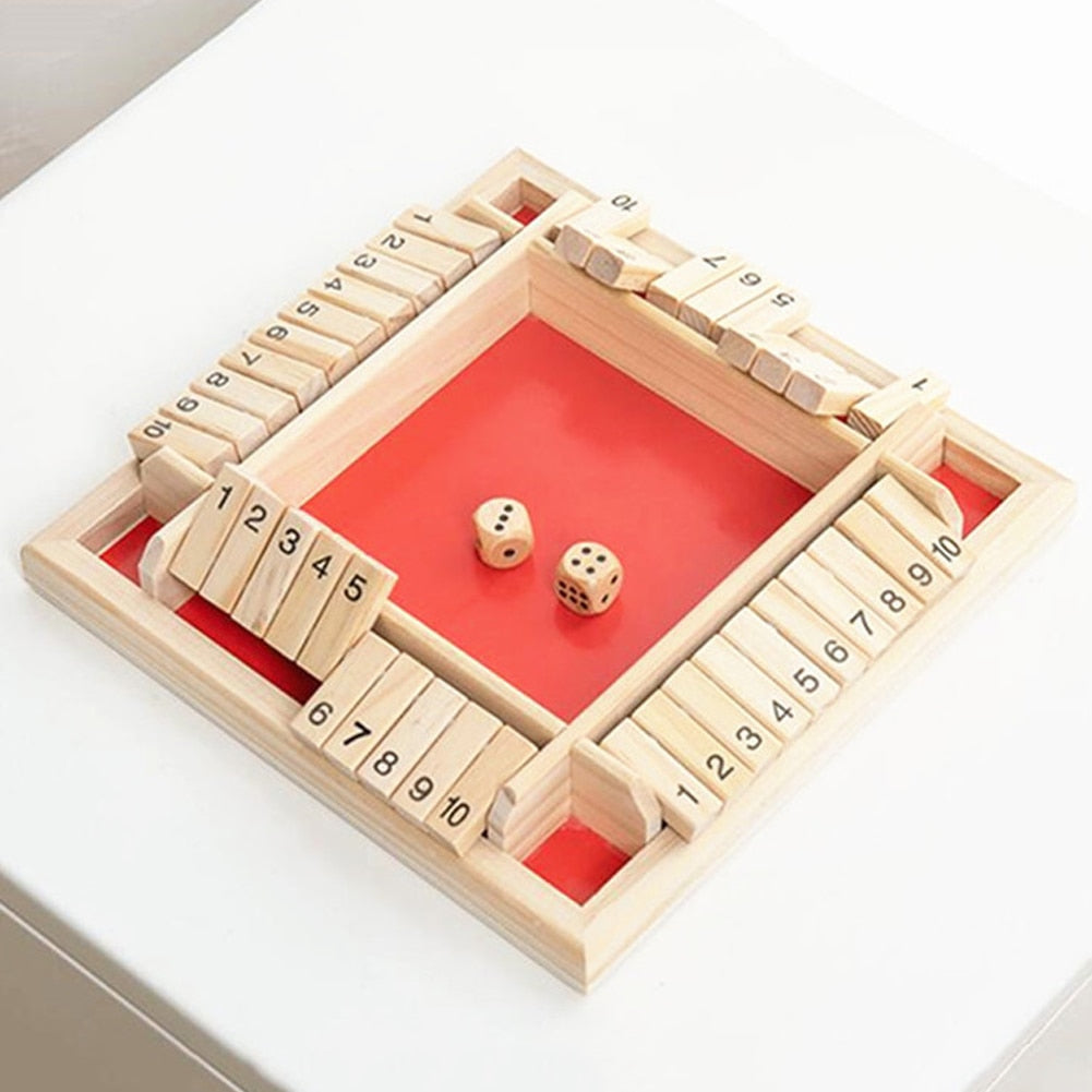 FlipBlock™ Wooden Board Game