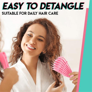 Easy Detangler Brush 3A to 4C Comb